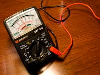 Typical Automotive Voltmeter Multimeter