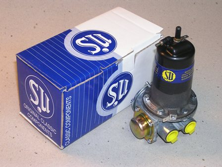 SU Fuel Pump Troubleshooting Guide : How-To Liry : The ... Jaguar Fuel Pump Diagram on