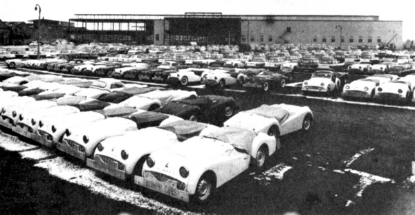 Triumph Car Company Factory