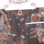 Old lower timing chain