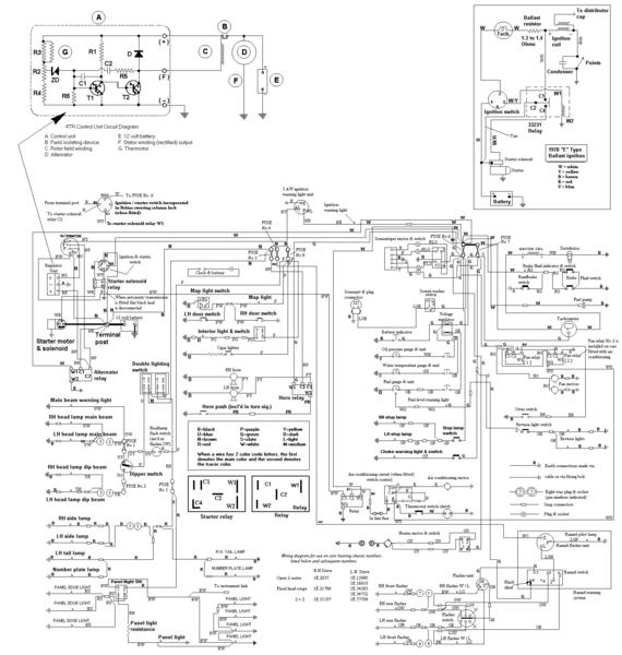 1970 jaguar xke wiring diagram