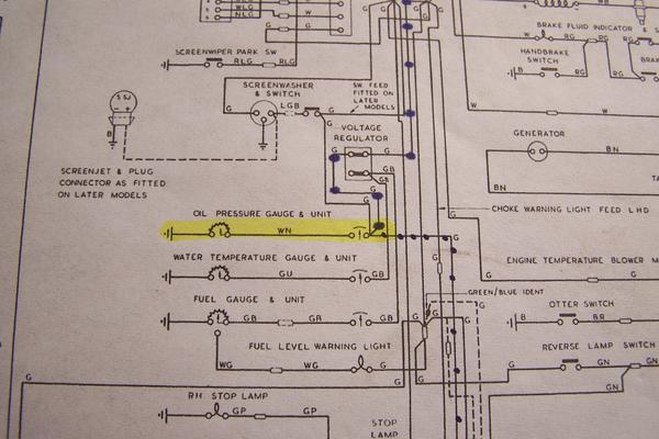Oil Pressure fo 66 Etype 42 The EType XKE Forum Jaguar – Jaguar Tachometer Wiring Diagram Electric