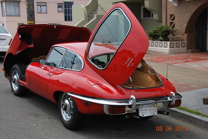 1969 Jaguar EType Coupe 1R26857  Registry  The Jaguar Experience