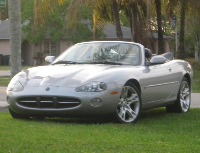 Registry 2003 Jaguar Xk8 Convertible
