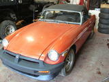 1976 MG MGB Blaze Red David Brill
