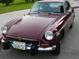 1974 MG MGB GT Damask Red Ed Bradley